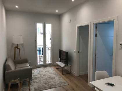 Renovated 2-bedroom apartment in the Ibiza area of Madrid