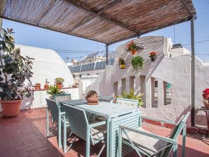Penthouse van 72m² te koop met 25m² terras in Sant Francesc
