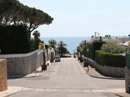 Large building plot for sale in S'Agaro, on the Costa Brava