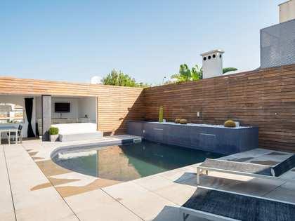 Ático con 100 m² de terraza en alquiler en Sant Gervasi