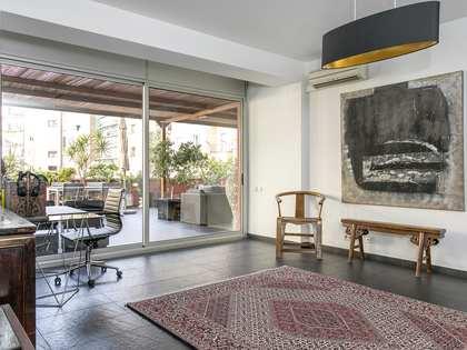 Apartamento de 148m² con terraza, en alquiler en Turó Park