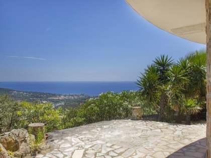 Propiedad exclusiva con vistas al mar en venta, Costa Brava
