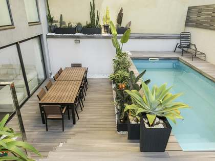 145 m² apartment with terrace for sale in Sant Gervasi