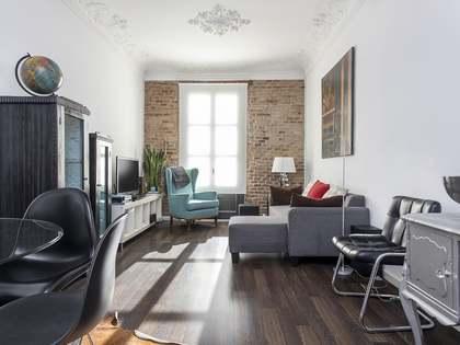 Квартира 95m² аренда в Левый Эшампле, Барселона