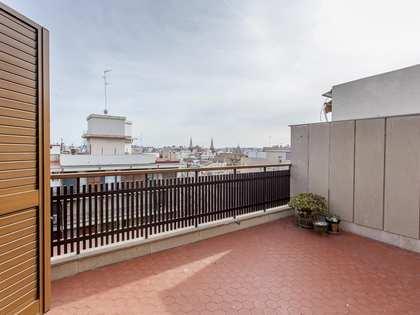 Пентхаус 158m², 20m² террасa на продажу в Сан Франсеск