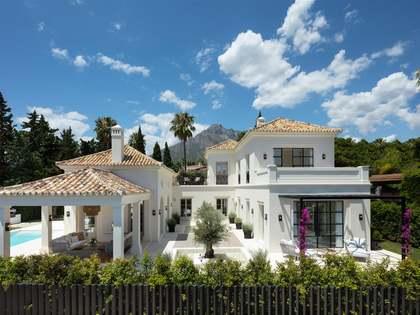 566m² Hus/Villa med 125m² terrass till salu i Sierra Blanca / Nagüeles