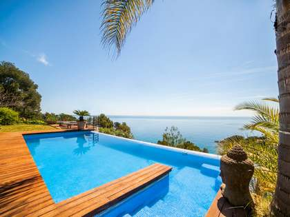 Luxury villa for sale in Blanes on the Costa Brava, Spain