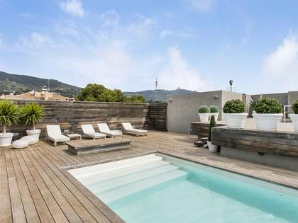 586 m² apartment with 191 m² terrace for sale in Pedralbes