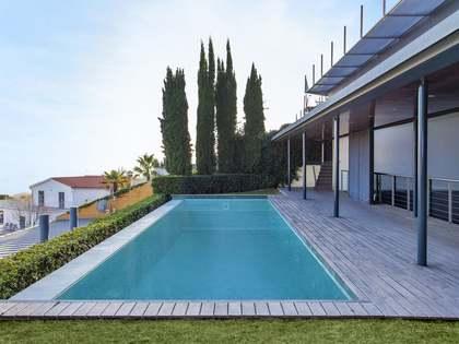Exclusive villa for sale on Cami de Lliça, Sarrià, Barcelona