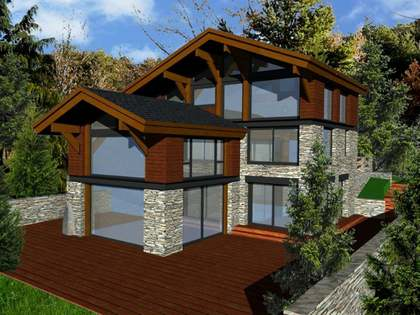 Luxury villa under construction in Anyós, La Massana