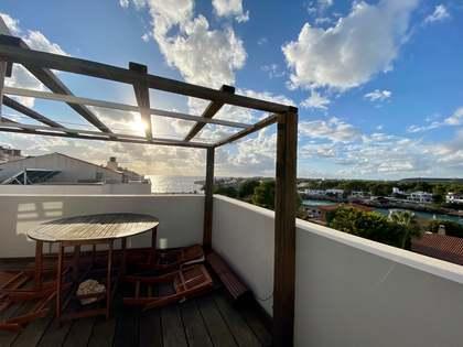 60m² Dachwohnung zur Miete in Ciudadela, Menorca
