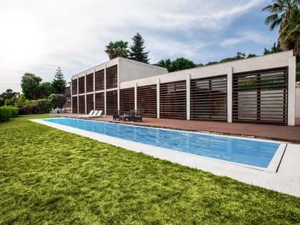 Casa con 3 dormitorios y piscina en venta en Vallromanes