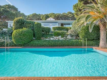 Luxury first line Costa Brava property to buy near Begur