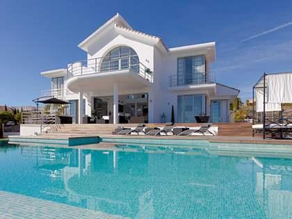 Zeitgenössische 3 Bett Luxusvilla zum Verkauf, Los Flamingos, Estepona. Erste Linie, Golf