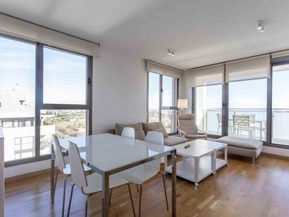 100m² Penthouse with 15m² terrace for rent in Ciudad de las Ciencias