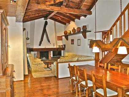 Casa de estilo rústico en venta en las pistas de Grandvalira