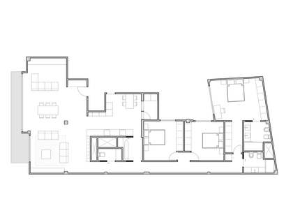 Piso de 194m² con terraza de 10m² en venta en Sant Francesc
