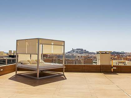 Luxury penthouse for sale in Ibiza with views over Dalt Vila