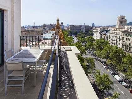 Bright, furnished apartment to rent on Paseo de Gracia