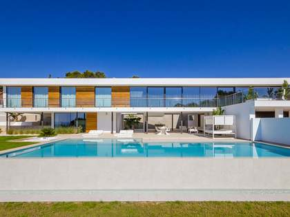 Modern villa for sale with stunning sea views in Ibiza
