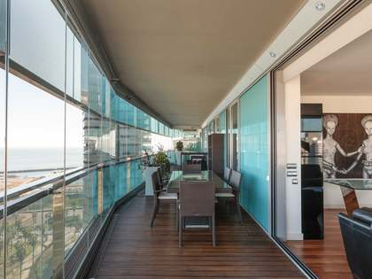 110 m² apartment with 80 m² terrace for sale in Diagonal Mar