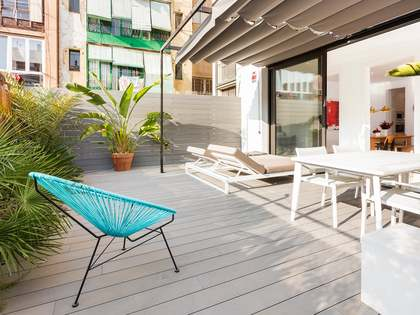 Apartment with a terrace for sale on Calle Aribau