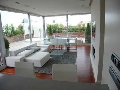 2 bedroom duplex penthouse for rent in Valencia city