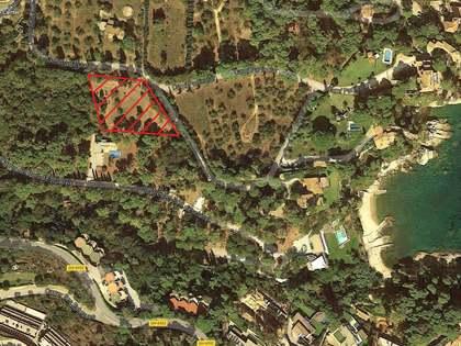 Parcela de 1.900 m² en venta en Fornells-Aiguablava, Begur