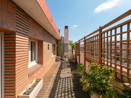 202m² Penthouse with 76m² terrace for sale in El Putxet