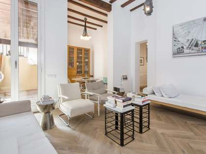 108m² apartment for sale in the Gothic area of Barcelona
