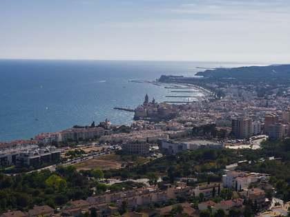 2 parcelas adyacentes con vistas al mar en venta en Sitges