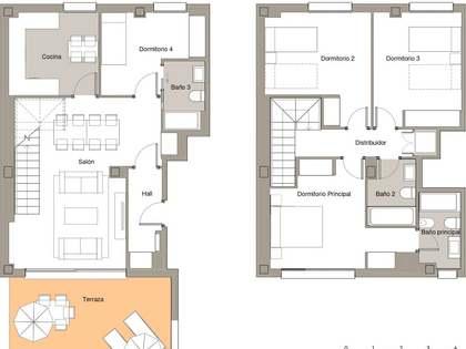 Appartamento di 114m² con 22m² terrazza in vendita a Sant Andreu de Llavaneres