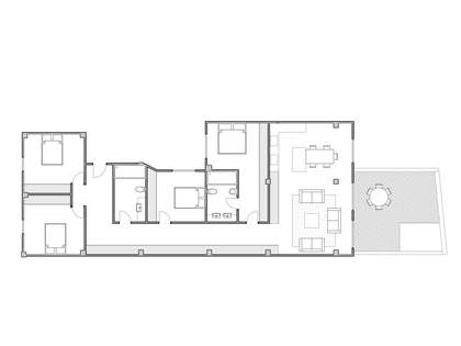 Apartment to renovate for sale in Extramurs, Valencia