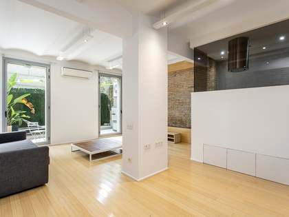 Piso de 90m² con 20m² terraza en alquiler en Eixample Derecho