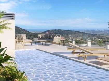 Ático con 202 m² de terraza en venta en Los Monasterios