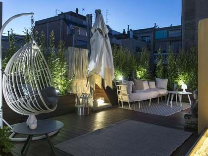 在 El Putxet, 巴塞罗那 193m² 出售 顶层公寓 包括 200m² 露台