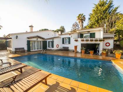 Mediterranean villa for sale in Blanes on the Costa Brava