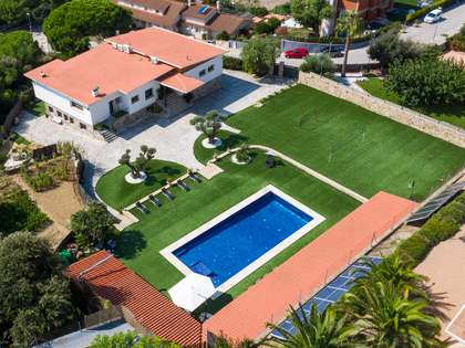 600m² House / Villa with 2,400m² garden for rent in Mataro