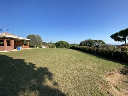Terrain à bâtir de 2,100m² a vendre à Sant Andreu de Llavaneres