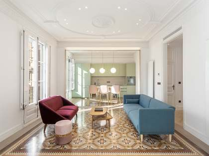 appartamento di 195m² con 7m² terrazza in affitto a Eixample Destro