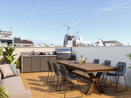 Penthouse van 86m² te koop met 80m² terras in Gracia