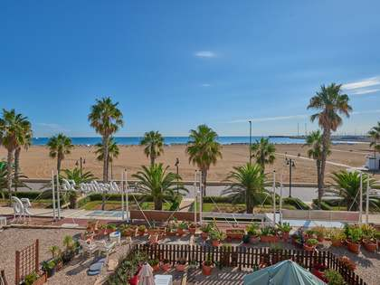 150m² Wohnung mit 20m² terrasse zur Miete in Playa de la Malvarrosa