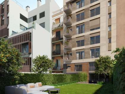 Квартира 114m², 100m² террасa на продажу в Правый Эшампле