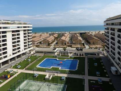 Patacona penthouse for sale with terrace and sea views