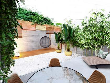 103 m² apartment with 40 m² garden for sale in Poblenou
