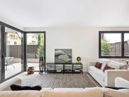 Appartamento di 117m² con giardino di 93m² in vendita a Sant Cugat