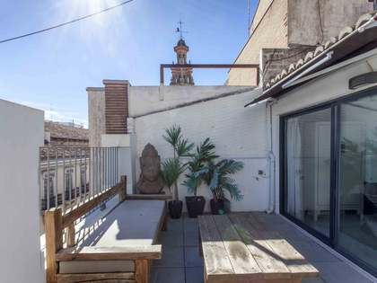 163m² Penthouse with 45m² terrace for rent in La Seu