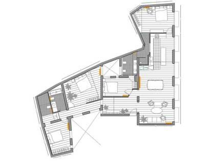 168m² Lägenhet till salu i Cortes / Huertas, Madrid