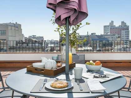 1-bedroom penthouse property to rent near Passeig de Gracia