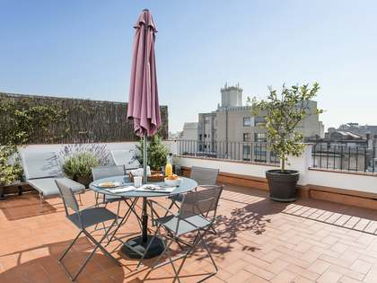 1-bedroom penthouse property to rent near Passeig de Gracia